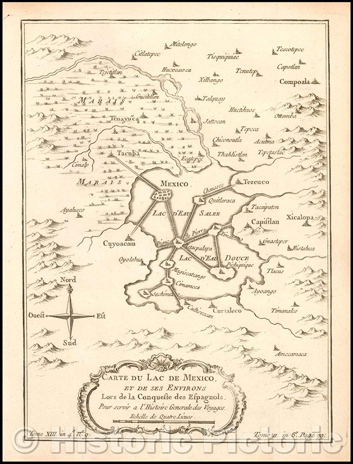 Amazon.com: Historic Map   Carte du Lac De Mexico, et de ses ... on a map of latin america, a map of roatan, a map of havana, a map of tamaulipas, a map of los cabos, a map of the southwest, a map of portland, a map of algiers, a map of popocatepetl, a map of milan, a map of rio de janeiro, a map of nassau, a map of zona rosa, a map of caracas, a map of everglades national park, a map of montevideo, a map of sinaloa, a map of the holy land, a map of budapest, a map of harare,