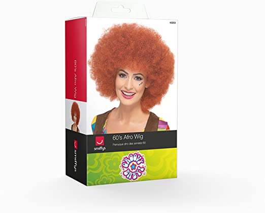 Smiffys Womens 60S Afro Wig