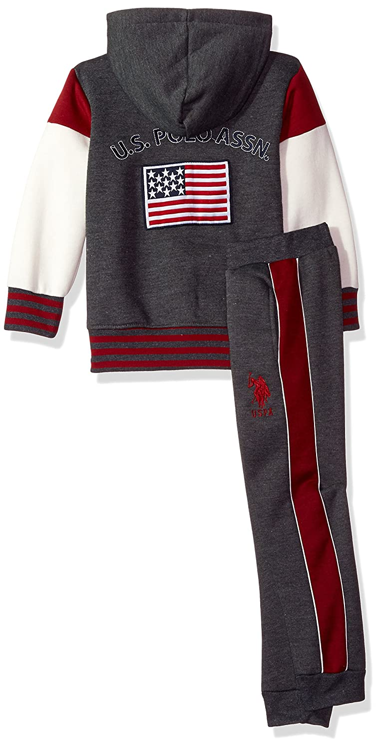 U.S Boys 2 Piece Jog Set Polo Assn