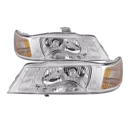 Amazon Com Headlights Depot Replacement For B002mf2e32 Azg Automotive