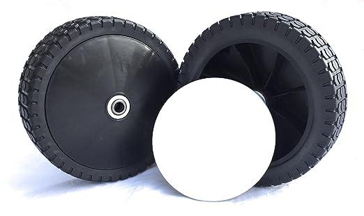 2 ruedas de repuesto para cortacésped Cortacésped ruedas 200 ...