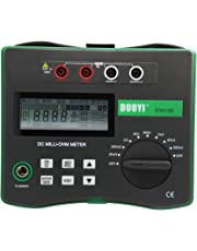 Micro Ohm & Continuity Meter DY4106 with Temperature Compensation