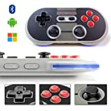 Yikeshu 8bitdo NES30 Retro Wireless Bluetooth Controller pour Nintendo Switch/ iOS / Android / Windows PC / Mac