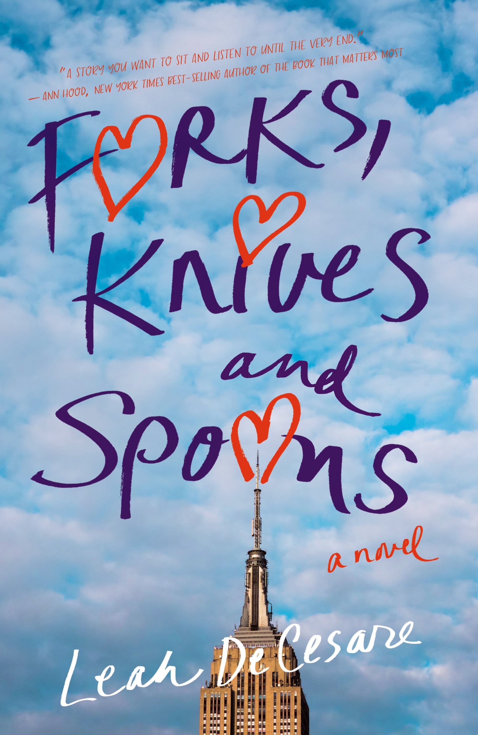 Forks, Knives, And Spoons: A Novel: Leah Decesare: 9781943006106:  Amazon: Books