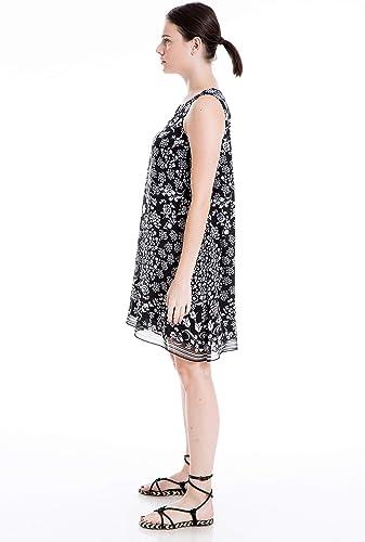Max Studio London Womens Scarf A-Line Dress