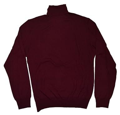 80205d0e6 Image Unavailable. Image not available for. Color  Ralph Lauren Polo Purple  Label Men Red Maroon Turtleneck Cashmere ...