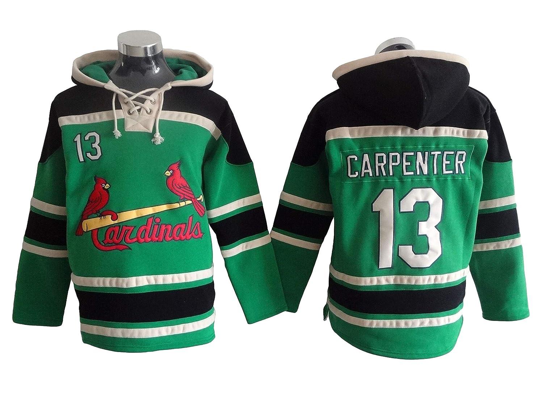 Carpenter 13 Cardinals Baseball Hoodie Men Onesie Sweatshirt Champion Tank top Sweaters Pullover Jersey