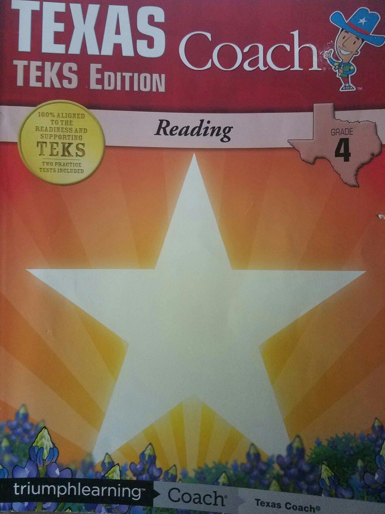Texas coach teks edition reading grade 3: amazon. Co. Uk: sherine.