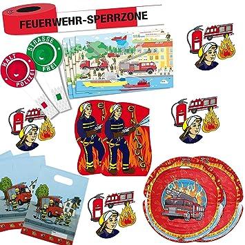 117 Juego de bomberos * * Juego de decoración para ...
