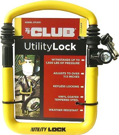 "NEW Winner International The Club UTL800 Utility Lock,13.25/""-20.25/"""