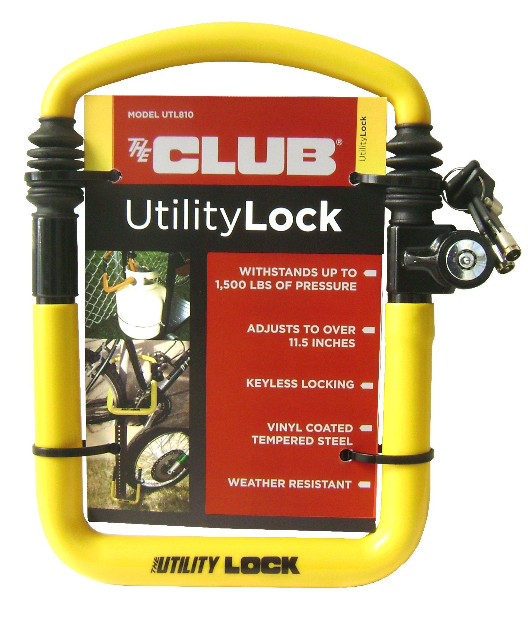 The Club UTL810 Utility Lock, Yellow by Winner International
