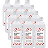 Amazon Brand - Solimo 99% Isopropyl Alcohol For Technical Use, 16 Fl Oz (Pack of 12)