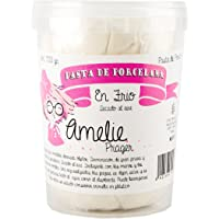 Amelie Prager 891600 Pasta de Porcelana, Blanco, 500