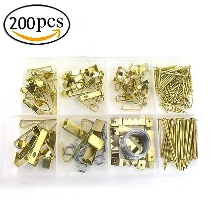 Surtido de accesorios para colgar cuadros con alambre 0a2c3d6a1ee1