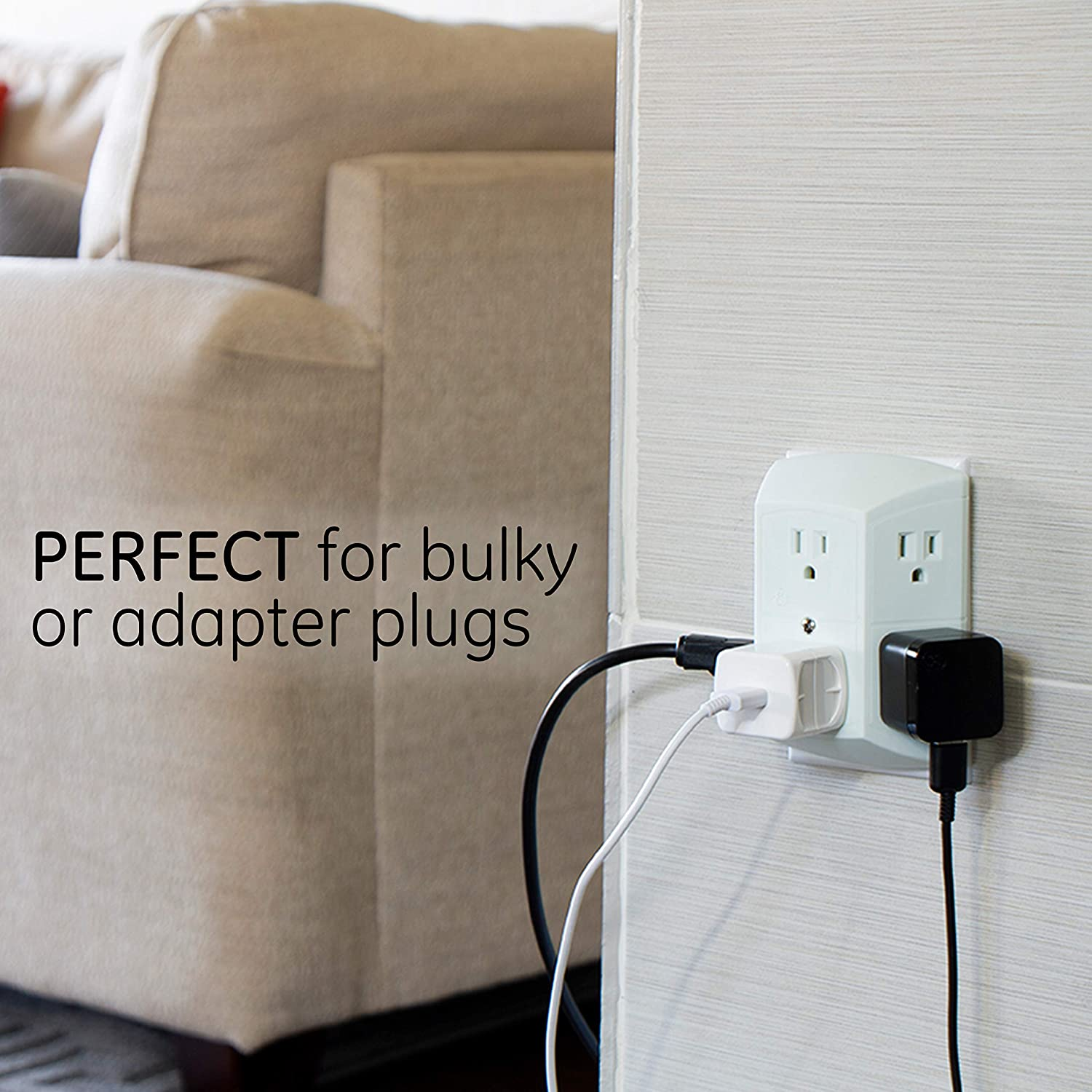 $6 (reg $10) GE 6 Outlet Wall.