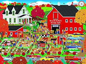 Plumly's Petting Farm, Home Country Collection 1000 Piece Jigsaw Puzzle by Artist: Mark Frost