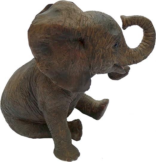 Out of Africa assis éléphant par Leonardo Lesser /& Pavey Figurine Nouveau cadeau