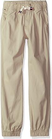 Tommy Hilfiger Baby Boys Stretch Poplin Pull on Pants