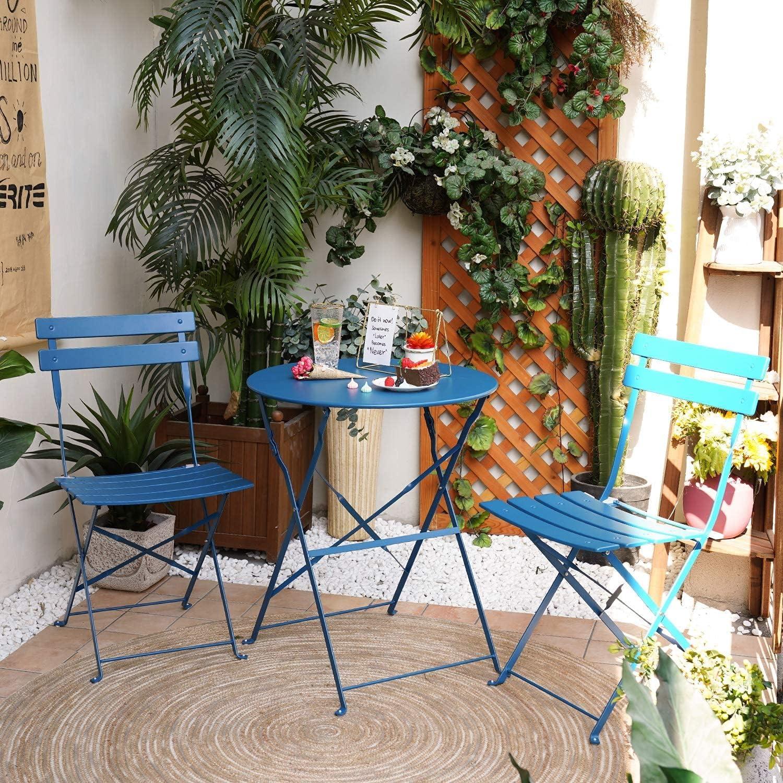 Aoboco ガーデンテーブル 3点セット