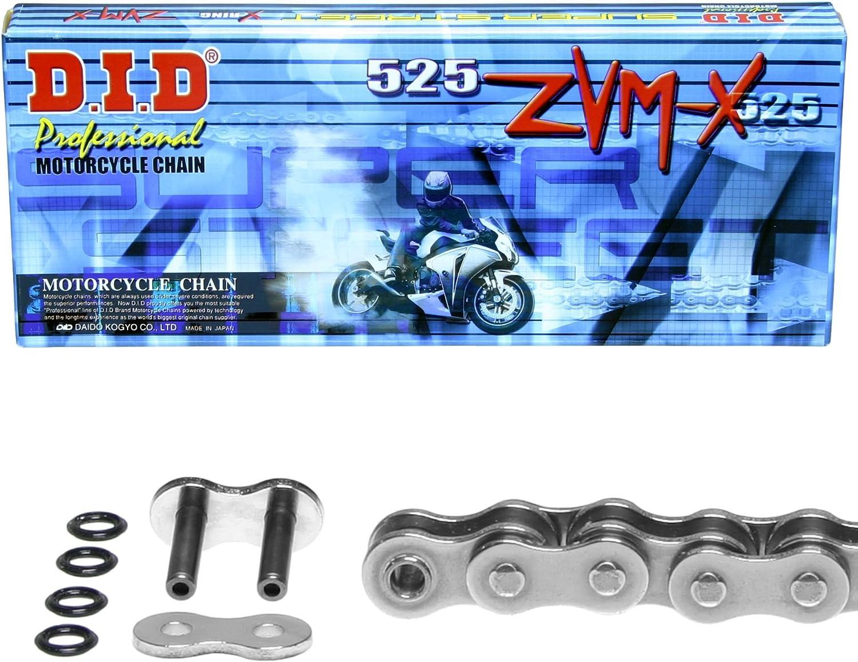 1999-2004 ZVM-X DID X-Ring Kettensatz f/ür Aprilia SL 1000 Falco Typ PA super verst/ärkt