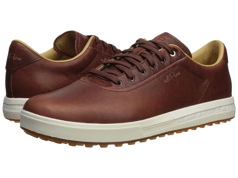 [アディダス] メンズゴルフシューズ靴 Adipure SP [並行輸入品] 28.5 cm Tan Brown/Tan Brown/Chalk White B07FBDPLRP