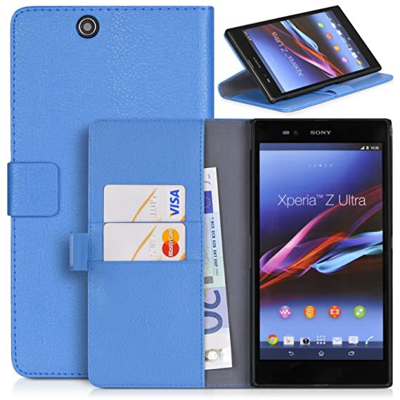 premium selection 4334e 42897 Sony Xperia Z Ultra XL39h C6806 Case , Topratesell Structure Wallet Leather  Flip Pu Leather Case Cover Pouch for Sony Xperia Z Ultra XL39h C6806 with  ...