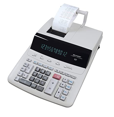 Sharp CS2635RHGYSE - Calculadora con impresora: Amazon.es ...