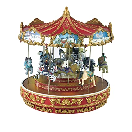 Mr Christmas Carousel.Mr Christmas Triple Decker Carousel