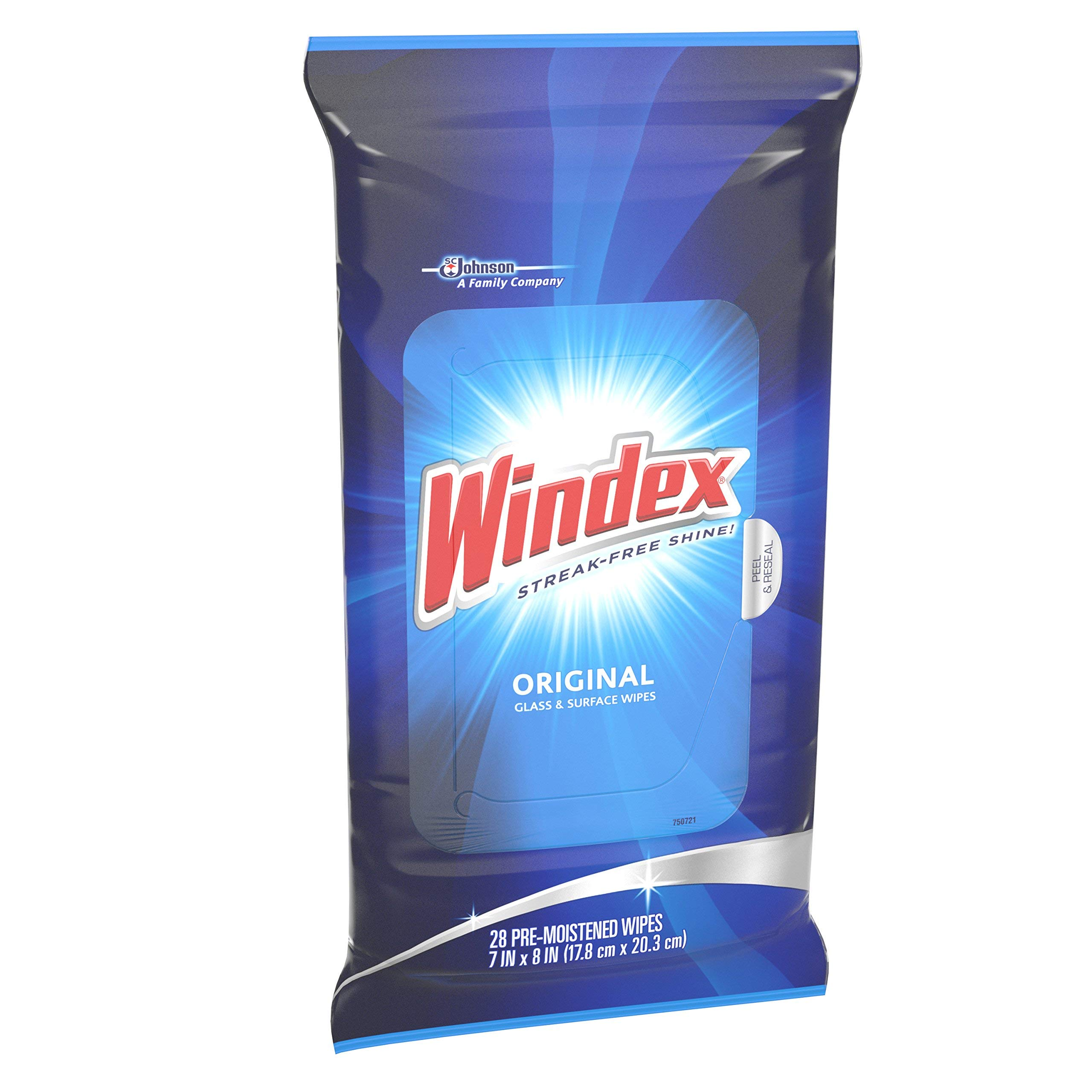 BGXZ Original Glass Wipes, 28 ct, 4 Pack of 6 by Windex (Image #3)
