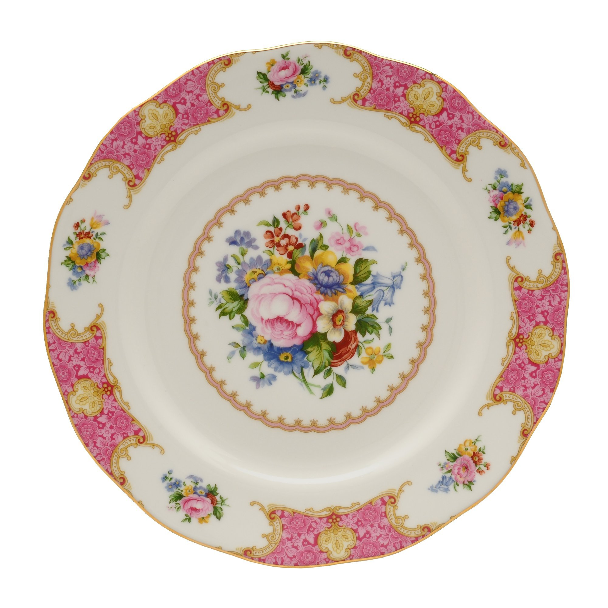 Royal Albert Lady Carlyle Dinner Plate 10-3/4-inches