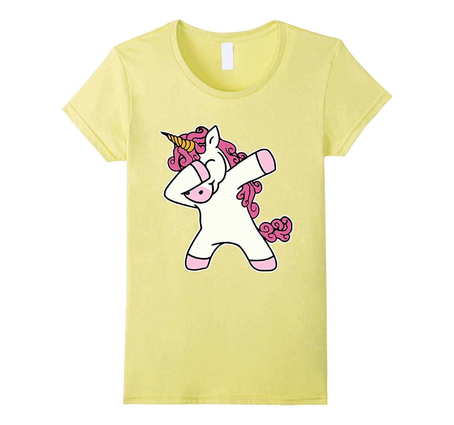 b277d1992 Cute Dabbing Unicorn Shirt Dab Hip Hop Funny Magic T-Shirt-ANZ ...