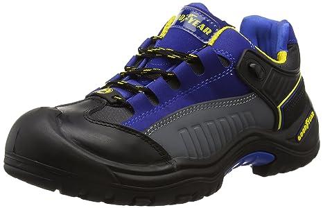 Goodyear Gyshu740 - Zapatos de seguridad, Unisex, color Negro, talla 45 EU