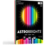 "Astrobrights Color Paper, 8.5"" x 11"", 24 lb/89 gsm, ""Spectrum"" 25-Color Assortment, 150 Count"