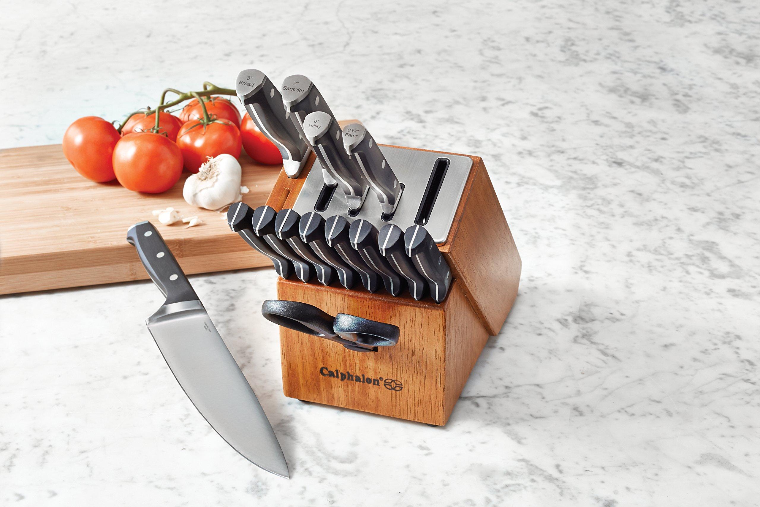 Calphalon Classic Self-Sharpening 15-pc. Cutlery Knife Block Set by Calphalon (Image #3)