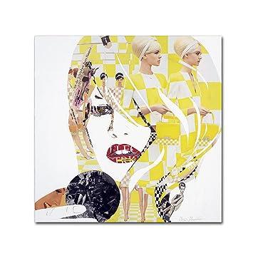 Amazon.com: Brigitte by Ines Kouidis Wall Decor, 14 by 14