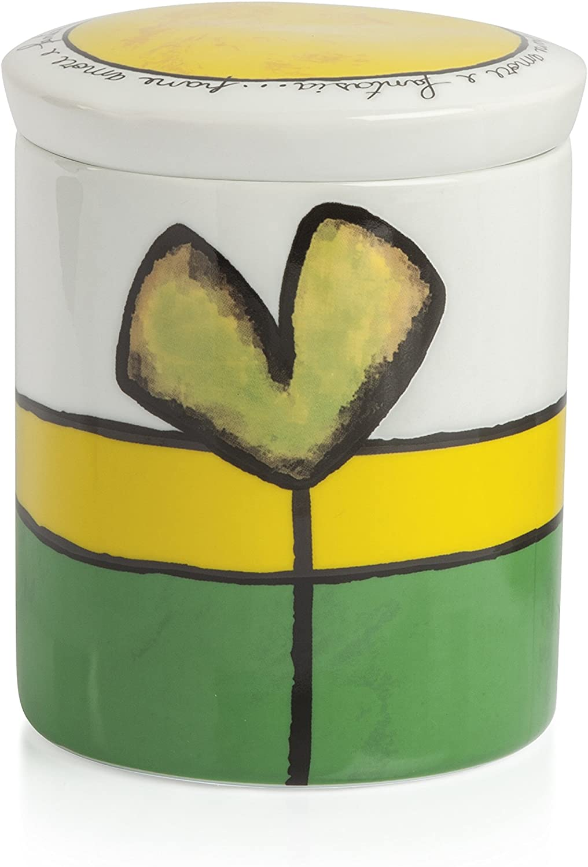 Porcellana Egan PAF02T//V Barattolo Verde
