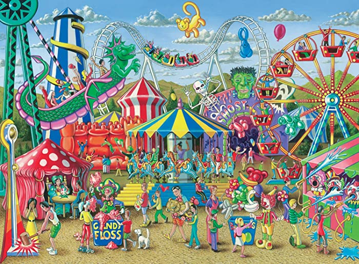 The Best 300 Piece Puzzle Food Stand