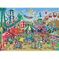 Ravensburger, Rompecabezas Fun at the Carnival, 300 Piezas