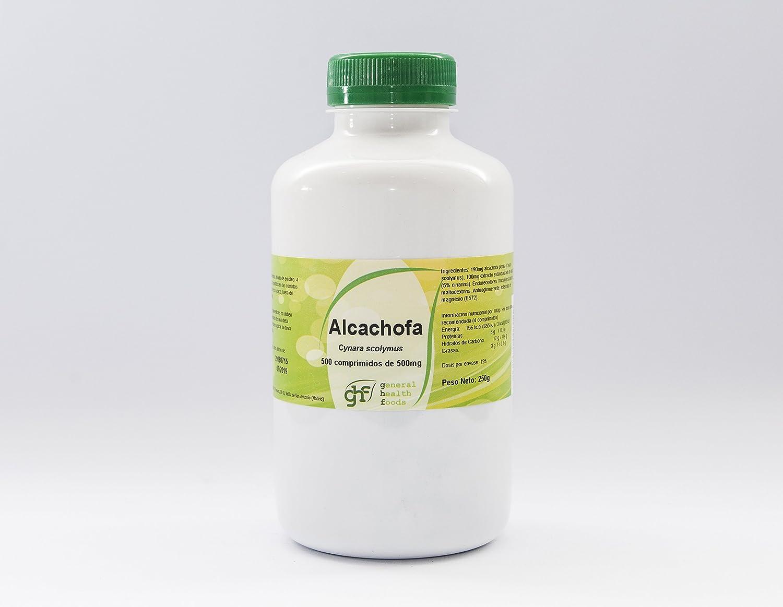 GHF Alcachofera 500 comprimidos 500mg: Amazon.es: Salud y cuidado personal