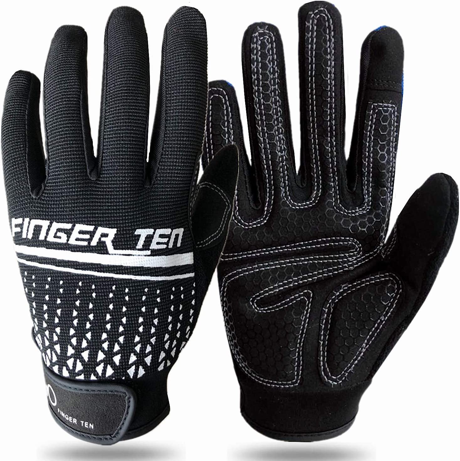 Women Men screen touch Gym Gloves Sports Weight Lifting Exercise Full Finger US