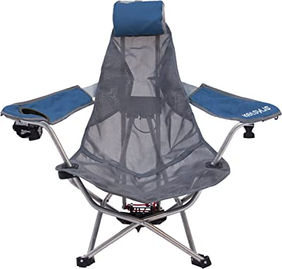 Kelsyus Mesh Backpack Chair - Portable Chair for Camping