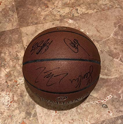 new concept 5c1d5 4053d 2018 GOLDEN STATE WARRIORS Team AUTOGRAPHED Signed F.S. Basketball NBA  CHAMPIONS Kevin Durant Stephen Curry Draymond