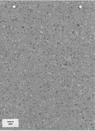 3323 Grey Mosaic Effect Anti Slip Vinyl Flooring Home Office Kitchen  Bathroom High Quality Lino Part 32