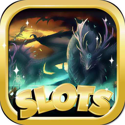 Slots O Fun : Dragon Edition - Free Slot Machines Game For Kindle! (Machine App Five Dragons Slot)