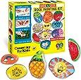 Faber-Castell CK6161 Creativity for Kids Hide & Seek Rock Painting Kit