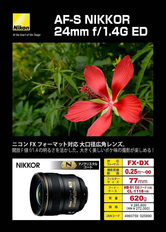 Nikon 24 Mm F 1 4 G Ed Objektiv Kamera