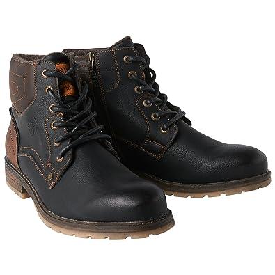 more photos a9c56 96c04 TOM TAILOR Denim für Männer Schuhe winterliche Boots Black ...