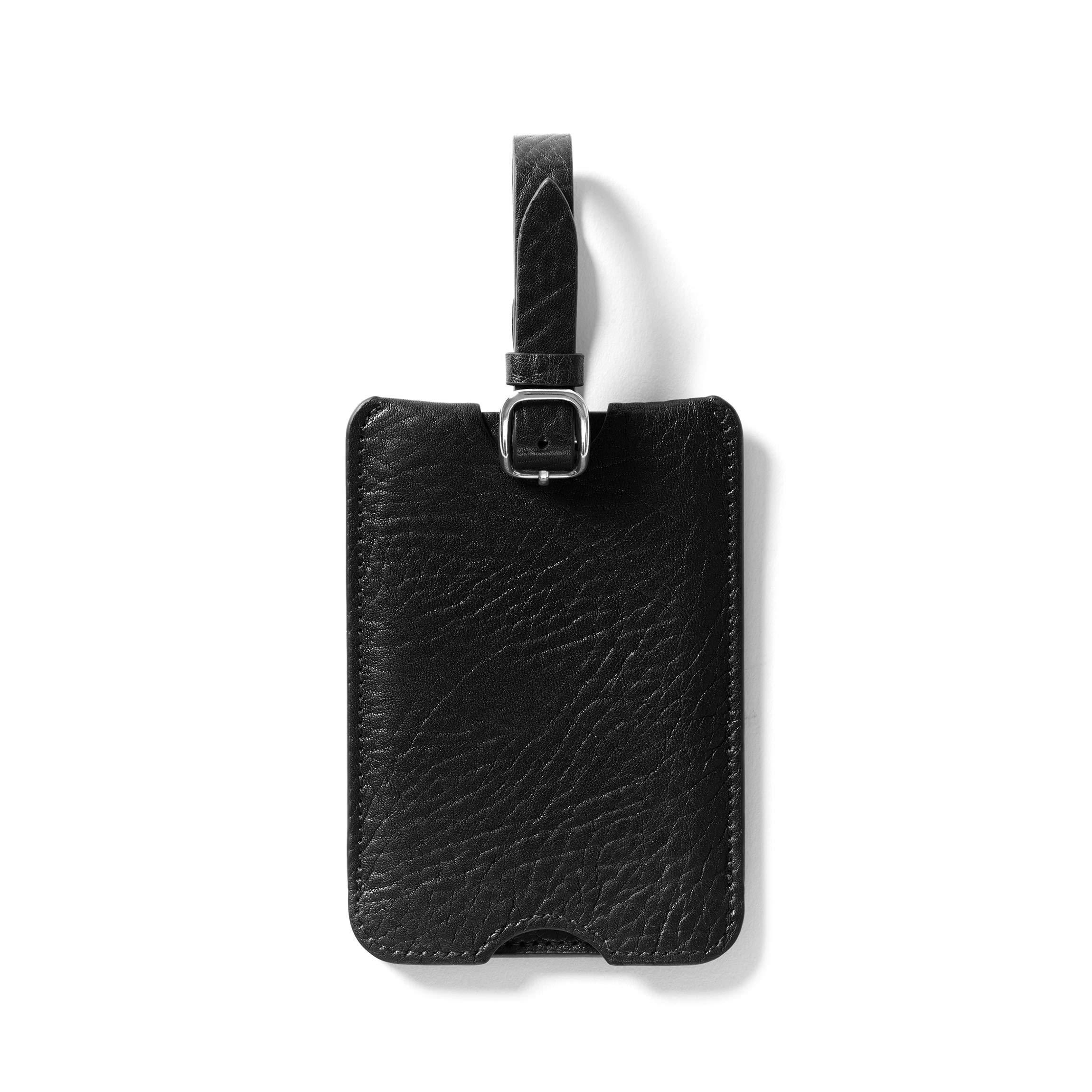 Leatherology Ebony Deluxe Luggage Tag by Leatherology