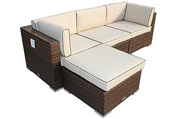 Rattan Garden Furniture Piece Florida Corner Sofa Inc Free