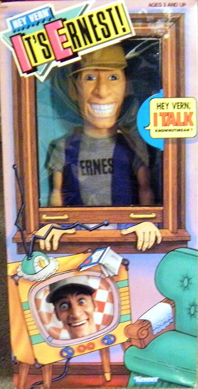 Hey Vern Its Talking Ernest Doll